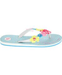 Gioseppo Garden 1 blue dívčí pantofle
