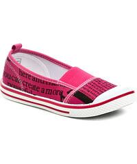 Dětská obuv Peddy PU-501-29-05 růžové dívčí tenisky