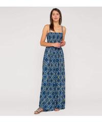 C&A Damen Maxikleid in blau / weiss von Yessica