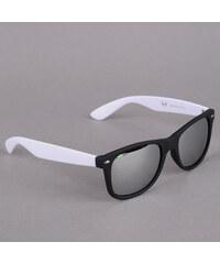 MD Sunglasses Likoma Mirror černé / bílé / stříbrné