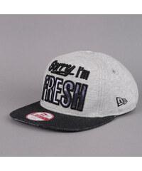 New Era Fresh Infill 9 New Era melange šedá / melange černá / bílá / černá