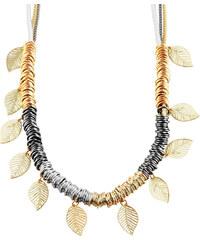 Lesara Statement-Halskette mit Blättern