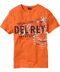 bpc selection T-shirt orange manches courtes homme - bonprix