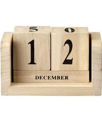 Bloomingville Stolní kalendář Nature wood