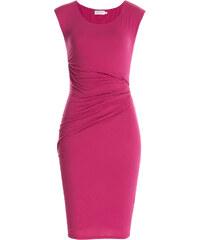 Velvet Stretch Cotton Draped Dress