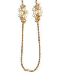Lesara Halskette mit Perlen-Knoten