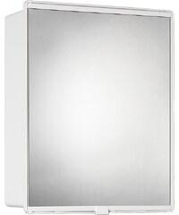 Jokey Plastik JUNIOR 1 Zrcadlová skříňka - bílá