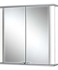 Jokey Plastik MARNO Zrcadlová skříňka - bílá, hrany aluminium/barva