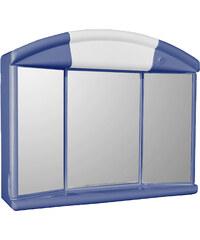 Jokey Plastik SALVA (SOLO) M Zrcadlová skříňka - modrá