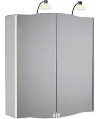 Jokey Plastik VITALU 65 Zrcadlová skříňka - aluminium