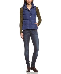 Mavi Damen Weste NYLON GILET; patriot blue; 1164715696