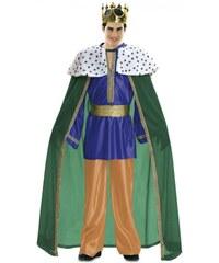 Kostým Král zelený Velikost M/L 50-52