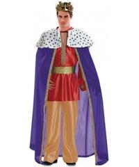 Kostým Král modrý Velikost M/L 50-52