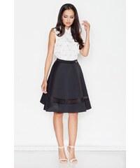 Sukně dámské, sukně FIGL (vel.M/38 skladem) S černá