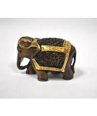 Soška zlatého slona M NAVELEGM