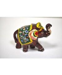 Pestrobarevná soška slona S NAVELEMS