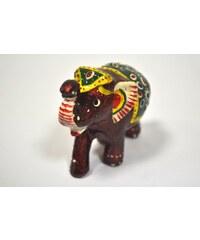 Pestrobarevná soška slona M NAVELEMM