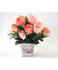 Květináč Rose malý ALUBUCKS