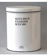 Bílá kuchyňská nádoba - nízka JOWBUCC3