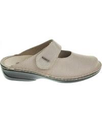Rejnok Dovoz OrtoMed dámské pantofle 3714 012-P61 béžové