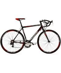 Rennrad, 28 Zoll, 14-Gang Shimano Tourney Kettenschaltung, schwarz, »Euphoria«, KS Cycling