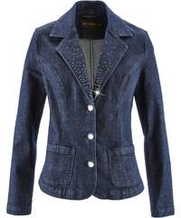 bpc selection Blazer en jean bleu manches longues femme - bonprix