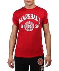 Marshall Original, červené pánské tričko s bílým potiskem