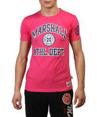 Marshall Original, růžové pánské tričko s potiskem