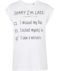 Topshop Excuses Tee By Tee and Cake