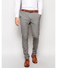 ASOS - Pantalon élégant coupe skinny - Gris - Gris