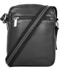 Sendi Design Pánská kožená taška na doklady SendiDesign IG714 - černá