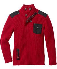 bpc bonprix collection Pull rouge manches longues enfant - bonprix