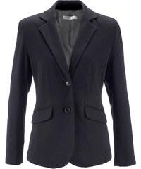 bpc bonprix collection Blazer en jersey noir manches longues femme - bonprix