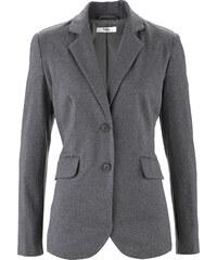 bpc bonprix collection Blazer en jersey gris manches longues femme - bonprix