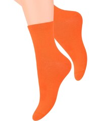 Ponožky dámské Steven 037, oranžová