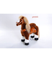 PONNIE Jezdící kůň White Hoof Horse malý N3151 62x28,5x76 cm