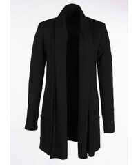 BODYFLIRT Shirtjacke langarm in schwarz für Damen von bonprix