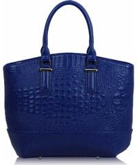 L&S Fashion (Anglie) Kabelka LS00104c modrá