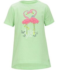 s.Oliver Baby - Mädchen T-Shirt mit Tüllapplikation, Print
