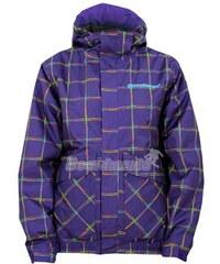 Dámská bunda Horsefeathers Taygeta jacket insulated violet check
