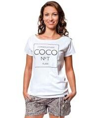 Dámské tričko Horsefeathers Coco white