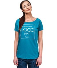 Dámské tričko Horsefeathers Coco deep blue