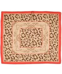 Zlatý hedvábný šátek s motivem jaguára, A Piece of Chic