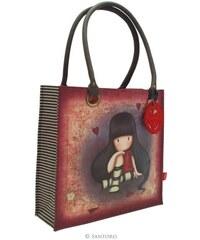 Santoro London - Gorjuss - Velká Nákupní taška - The Collector - Vínovo - Písková