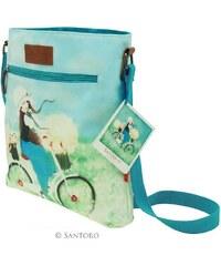 Santoro London - Kori Kumi - Taška přes rameno - Summertime - Bledě modrá