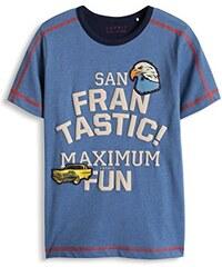 ESPRIT Jungen Farbblock T-Shirt mit Druck und Patches