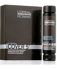 L´Oréal Paris Homme Cover 5 Hair Color 50ml Barva na vlasy M Barva na vlasy - odstín 2 Brown hnědá - Odstín 2 Brown hnědá