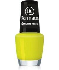 Dermacol Neon Polish 5ml Lak na nehty W - Odstín 01 yellow