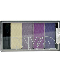 NYC New York Color HD Color Quattro Eye Shadow 6g Oční stíny W - Odstín 795 Manhattan Island