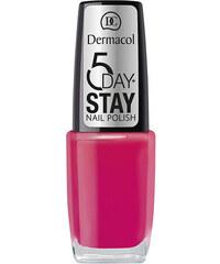 Dermacol 5 Day Stay Nail Polish 10ml Lak na nehty W - Odstín 05
